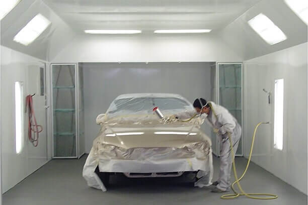 automotive paint shop thornhill