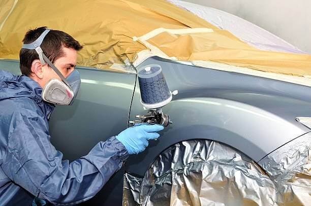 car paint shop thornhill