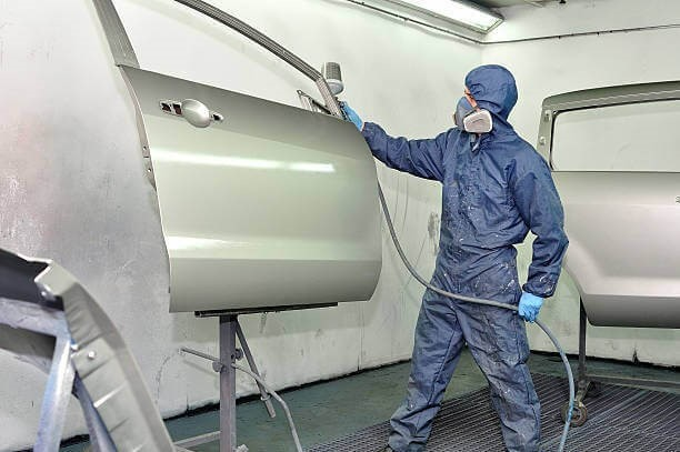 car painting service shop markham