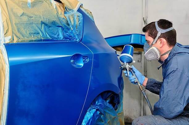 cost of repainting a car markham