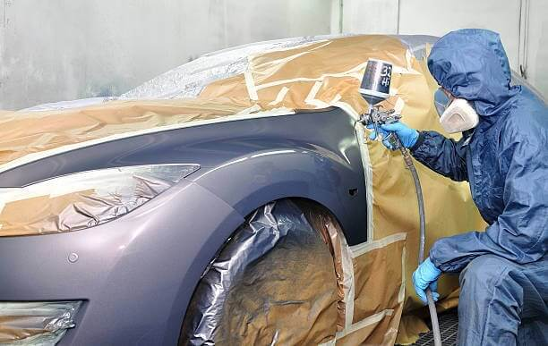 car paint shop near me north york